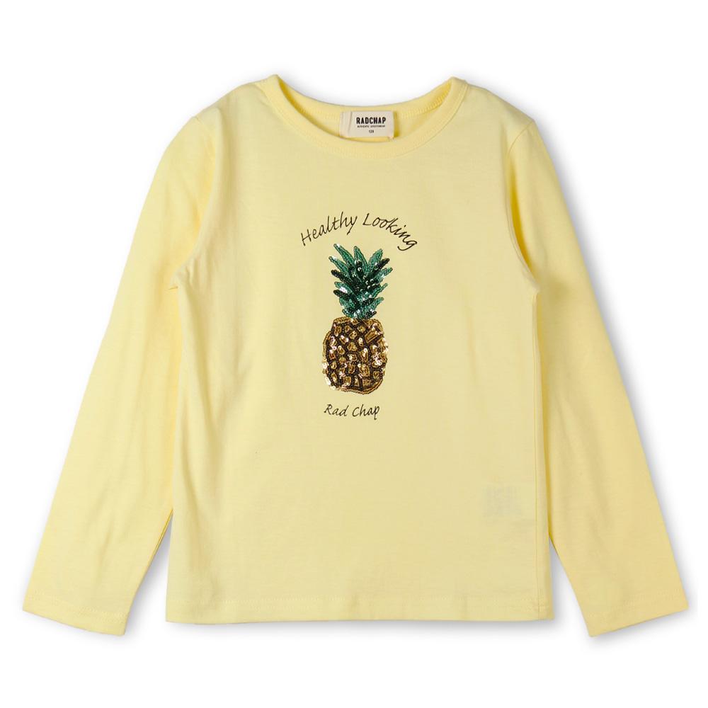 パイナップル長袖Tシャツ