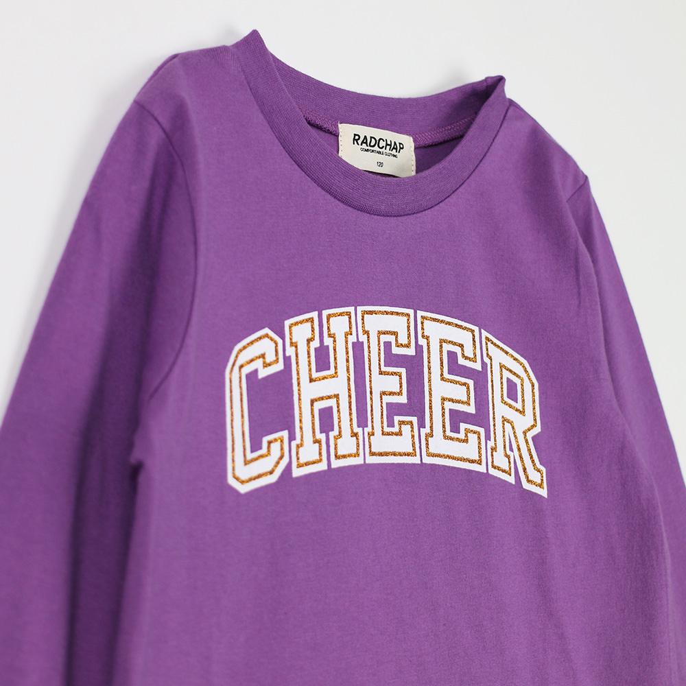 cheerロゴ長袖tシャツ 42 8305 022 2042000062556 子ども服 ママの服