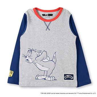 skeegee×TOM and JERRYワンシーンTシャツ
